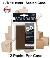 Ultra Pro Deck Protector Sleeves (Brown) 12 Pack CASE - 600 Sleeves