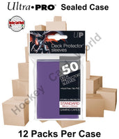 Ultra Pro Deck Protector Sleeves (Purple) 12 Pack CASE - 600 Sleeves