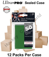 Ultra Pro Deck Protector Sleeves (Green) 12 Pack CASE - 600 Sleeves