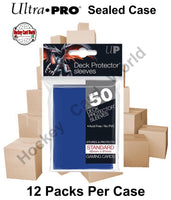 Ultra Pro Deck Protector Sleeves (Blue) 12 Pack CASE - 600 Sleeves