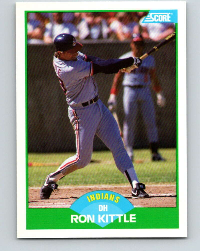 1989 Score #96 Ron Kittle Mint Cleveland Indians