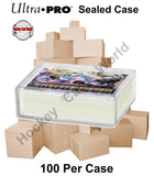Ultra Pro Snap Box 50ct CASE - Hold up to 50 cards - 100 Boxes Per Case