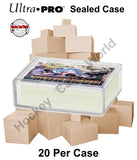 Ultra Pro Snap Box 50ct CASE - Hold up to 50 cards - 20 Boxes Per Case