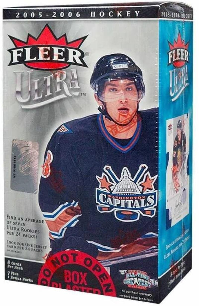2005-06 Fleer Ultra Blaster Box - Look for Crosby Ovechkin Rookies *RARE