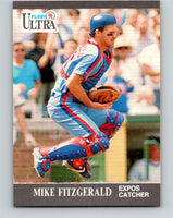 1991 Ultra #201 Mike Fitzgerald Mint Montreal Expos