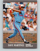 1991 Ultra #205 Dave Martinez Mint Montreal Expos