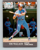 1991 Ultra #210 Tim Wallach Mint Montreal Expos