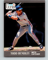 1991 Ultra #220 Todd Hundley Mint New York Mets