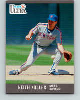 1991 Ultra #225 Keith Miller Mint New York Mets