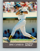 1991 Ultra #244 Jose Canseco Mint Oakland Athletics