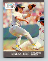 1991 Ultra #246 Mike Gallego Mint Oakland Athletics