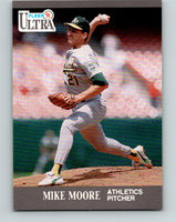 1991 Ultra #252 Mike Moore Mint Oakland Athletics