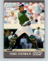 1991 Ultra #253 Terry Steinbach Mint Oakland Athletics