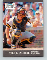 1991 Ultra #282 Mike LaValliere Mint Pittsburgh Pirates