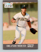 1991 Ultra #284 Orlando Merced Mint RC Rookie Pittsburgh Pirates