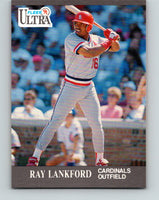 1991 Ultra #290 Ray Lankford Mint St. Louis Cardinals