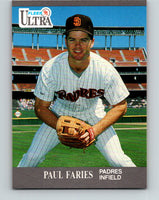 1991 Ultra #302 Paul Faries Mint RC Rookie San Diego Padres