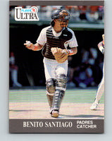 1991 Ultra #311 Benito Santiago Mint San Diego Padres