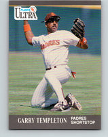 1991 Ultra #312 Garry Templeton Mint San Diego Padres