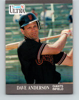 1991 Ultra #314 Dave Anderson Mint San Francisco Giants