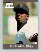 1991 Ultra #325 Willie McGee Mint San Francisco Giants