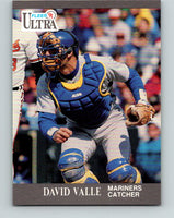 1991 Ultra #344 Dave Valle Mint Seattle Mariners