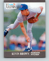 1991 Ultra #347 Kevin Brown Mint Texas Rangers