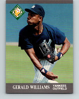 1991 Ultra #388 Gerald Williams MLP Mint RC Rookie New York Yankees
