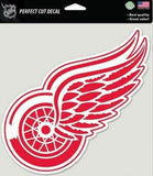 "Detroit Red Wings Perfect Cut 8""x8"" Large Licensed Decal Sticker"