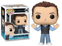 Funko Pop - 969 TV Will & Grace - Jack McFarland Grey Vest Vinyl Figure