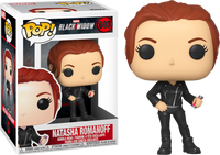 Funko Pop - 603 Marvel Black Widow - Natasha Romanoff Vinyl Figure