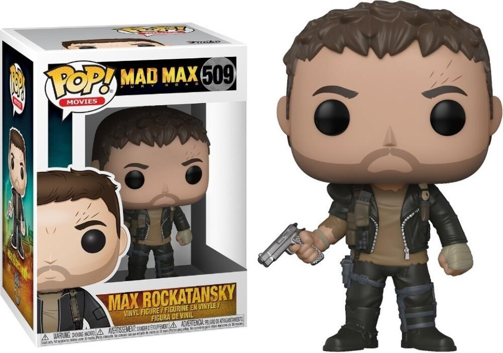 Funko Pop - 509 Movies Mad Max Fury - Max Rockatansky Vinyl Figure