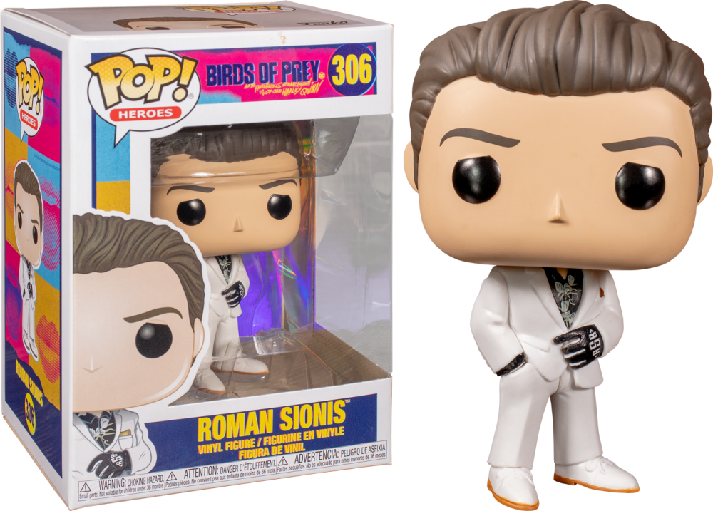 Funko Pop - 306 Heroes Birds of Prey - Roman Sionis Battle Vinyl Figure