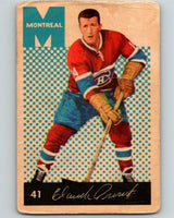 1962-63 Parkhurst #41 Claude Provost  Montreal Canadiens V15