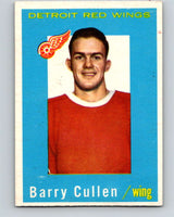 1959-60 Topps #25 Barry Cullen  Detroit Red Wings  V350