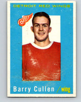 1959-60 Topps #25 Barry Cullen  Detroit Red Wings  V351