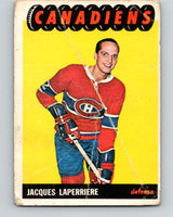 1965-66 Topps #3 Jacques Laperriere  Montreal Canadiens  V469