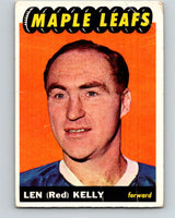 1965-66 Topps #15 Red Kelly  Toronto Maple Leafs  V482