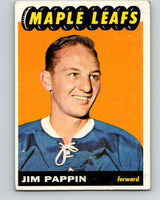 1965-66 Topps #16 Jim Pappin  Toronto Maple Leafs  V483