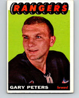1965-66 Topps #28 Garry Peters UER  RC Rookie New York Rangers  V496
