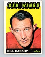 1965-66 Topps #44 Bill Gadsby  Detroit Red Wings  V516