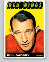 1965-66 Topps #44 Bill Gadsby  Detroit Red Wings  V517