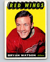 1965-66 Topps #45 Bryan Watson  RC Rookie Detroit Red Wings  V518