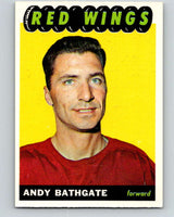 1965-66 Topps #48 Andy Bathgate  Detroit Red Wings  V522