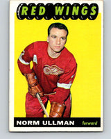 1965-66 Topps #49 Norm Ullman  Detroit Red Wings  V523