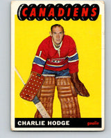 1965-66 Topps #67 Charlie Hodge  Montreal Canadiens  V543