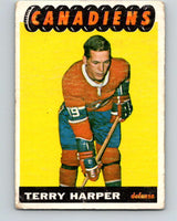 1965-66 Topps #68 Terry Harper  Montreal Canadiens  V544