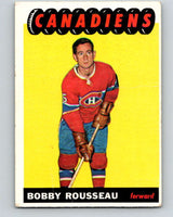 1965-66 Topps #70 Bobby Rousseau  Montreal Canadiens  V547