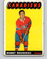 1965-66 Topps #70 Bobby Rousseau  Montreal Canadiens  V548