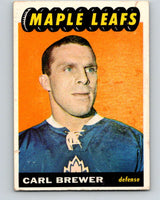 1965-66 Topps #78 Carl Brewer  Toronto Maple Leafs  V556